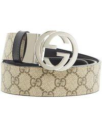 8b37c8b13eb Lyst - Gucci Gg Caleido Belt for Men