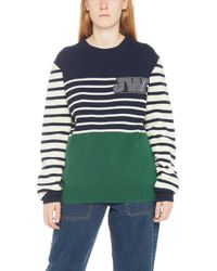 JW Anderson - Logo Patch Wool Knit Sweater - Lyst