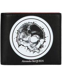 Alexander McQueen - Portafoglio logo - Lyst