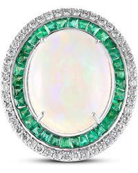 Sanjay Kasliwal - Opal Emerald Ring - Lyst