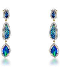 Sanjay Kasliwal - Water Blue Opal Earrings - Lyst