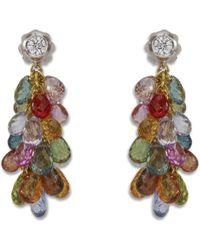 Sidney Garber - Sapphire Briolette Drop Earrings - Lyst