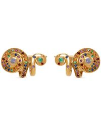 Venyx - Moonshell Cuff Earrings - Lyst