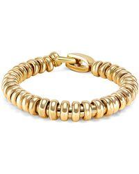 Sidney Garber - Rondelle Yellow Gold Bracelet - Lyst