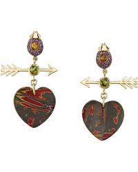 Daniela Villegas - Paro Heart Earrings - Lyst