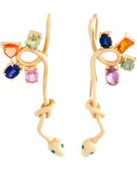 Daniela Villegas - Snake Earrings - Lyst