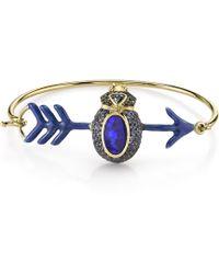 Daniela Villegas - Cupid Blue Sapphire Bracelet - Lyst