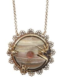 Daniela Villegas - Compartir Necklace - Lyst