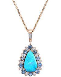 Mimi So - Zozo Opal Diamond Necklace - Lyst