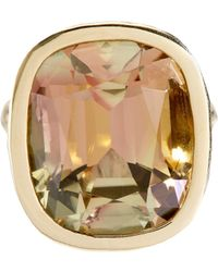Sidney Garber | Yellow Tourmaline Ring | Lyst