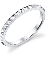 Anita Ko   Eternity Spike White Gold Ring   Lyst