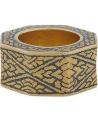 Royal Thai - Thai Beveled Ring - Lyst