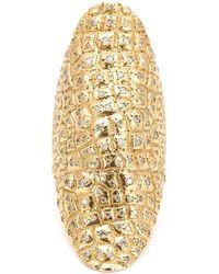 Venyx | Gold Niloticus Ring | Lyst