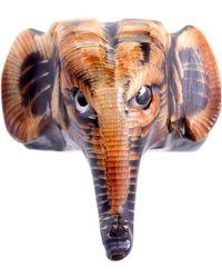 Kirat Young - Elephant Horn Ring - Lyst