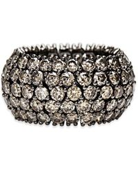Sidney Garber - Cognac Diamond Flexible Ring - Lyst