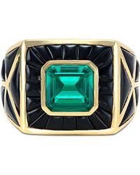 Marina B - Cassia Emerald Ring - Lyst