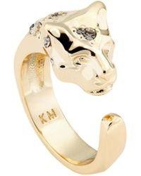 Karen Millen - Leopard Ring - Lyst