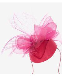 Karen Millen - Structured Bow Hat - Lyst