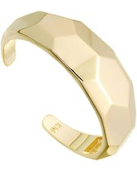 Karen Millen - Chunky Bangle - Lyst