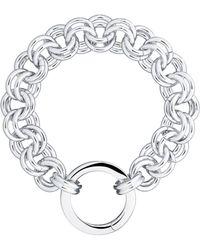 Karen Millen - Hoop Bracelet - Lyst