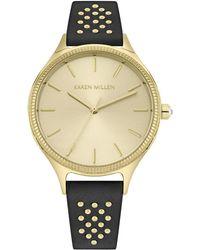 Karen Millen - Studded Strap Watch - Lyst