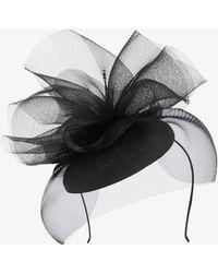 Karen Millen - Ruffle Tulle Hat - Lyst