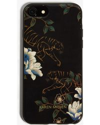 Karen Millen - Tiger Iphone Case - Lyst