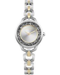 Karen Millen - Sparkle Edge Bracelet Watch - Lyst