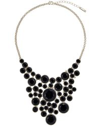 Karen Millen - Geo Disk Necklace - Lyst