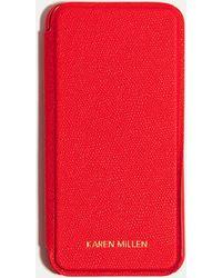 Karen Millen - Folio Iphone Case - Lyst