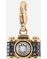 Karl Lagerfeld - Gold Camera Charm - Lyst