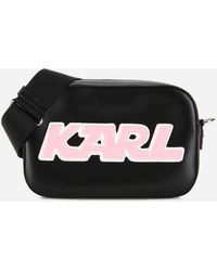 Karl Lagerfeld - K/sporty Camera Bag - Lyst