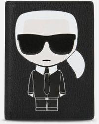 Karl Lagerfeld - K/ikonik Passport Holder - Lyst