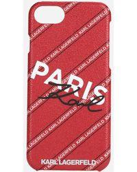 Karl Lagerfeld Paris Iphone 8 Case