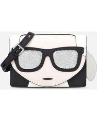 Karl Lagerfeld - K/ikonik Mini Crossbody - Lyst