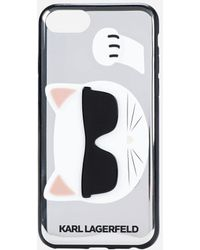 Karl Lagerfeld - Choupette Iphone 8 Case - Lyst