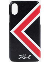 Karl Lagerfeld - K/ikonik Stripe Iphone X Case - Lyst