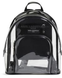 098f8ec8dbd Karl Lagerfeld - Clear Swim Pvc Backpack - Lyst