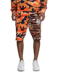 Billionaire Boys Club - Ice Cream | The Dual Shorts In Apricot Nectar And Orange Camo | Lyst