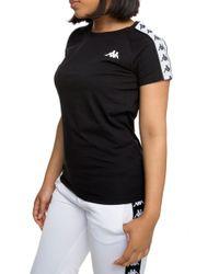 e2a3f8ad3f Lyst - Kappa Authentic Westessi T-shirt In Black in Black