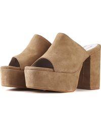 Jeffrey Campbell - For Women: Pilar Nude Platform Heels - Lyst