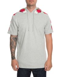 Lifted Anchors - The Napier Short Sleeve Pullover Hoodie - Lyst