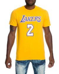 2d852901 Lyst - adidas Men's Short-sleeve Jeremy Lin Los Angeles Lakers ...
