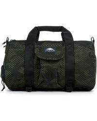 Jansport - The Duffel Dl Bag In Green Square Camo - Lyst