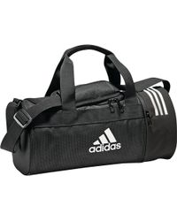 4c063e34d8d45 adidas Originals - Sporttasche »Convertible 3-Streifen Duffelbag XS« - Lyst
