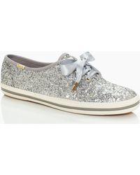 Kate Spade - Keds X New York Glitter Sneakers - Lyst