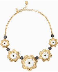 Kate Spade - Posy Grove Necklace - Lyst