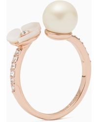Kate Spade - Disco Pansy Ring - Lyst