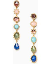 Kate Spade - Perfectly Imperfect Linear Earrings - Lyst