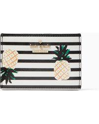 Kate Spade - Cameron Street Pineapples Card Holder - Lyst